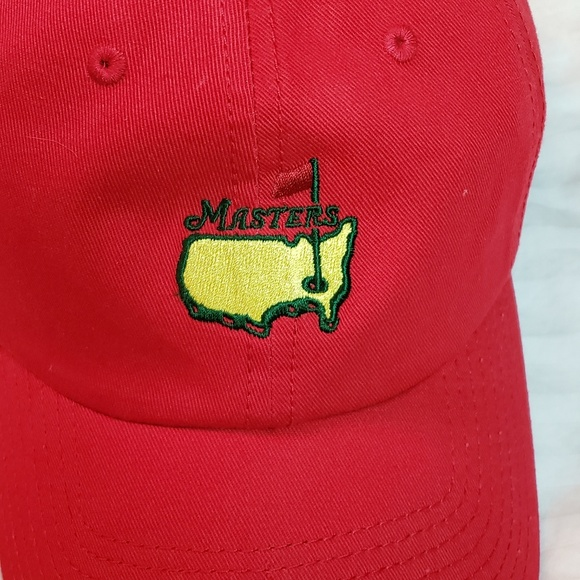 9f937040 American Needle Accessories   Masters Ball Cap Red   Poshmark